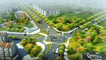 园林景观效果图制作-ps篇_宁波城市职业技术学院_中国
