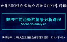 商务PPT实战课程,商务PPT的情景分析