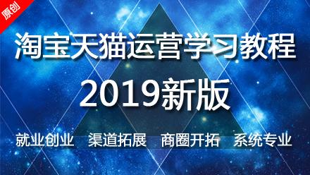 2019淘宝天猫运营系统学习教程