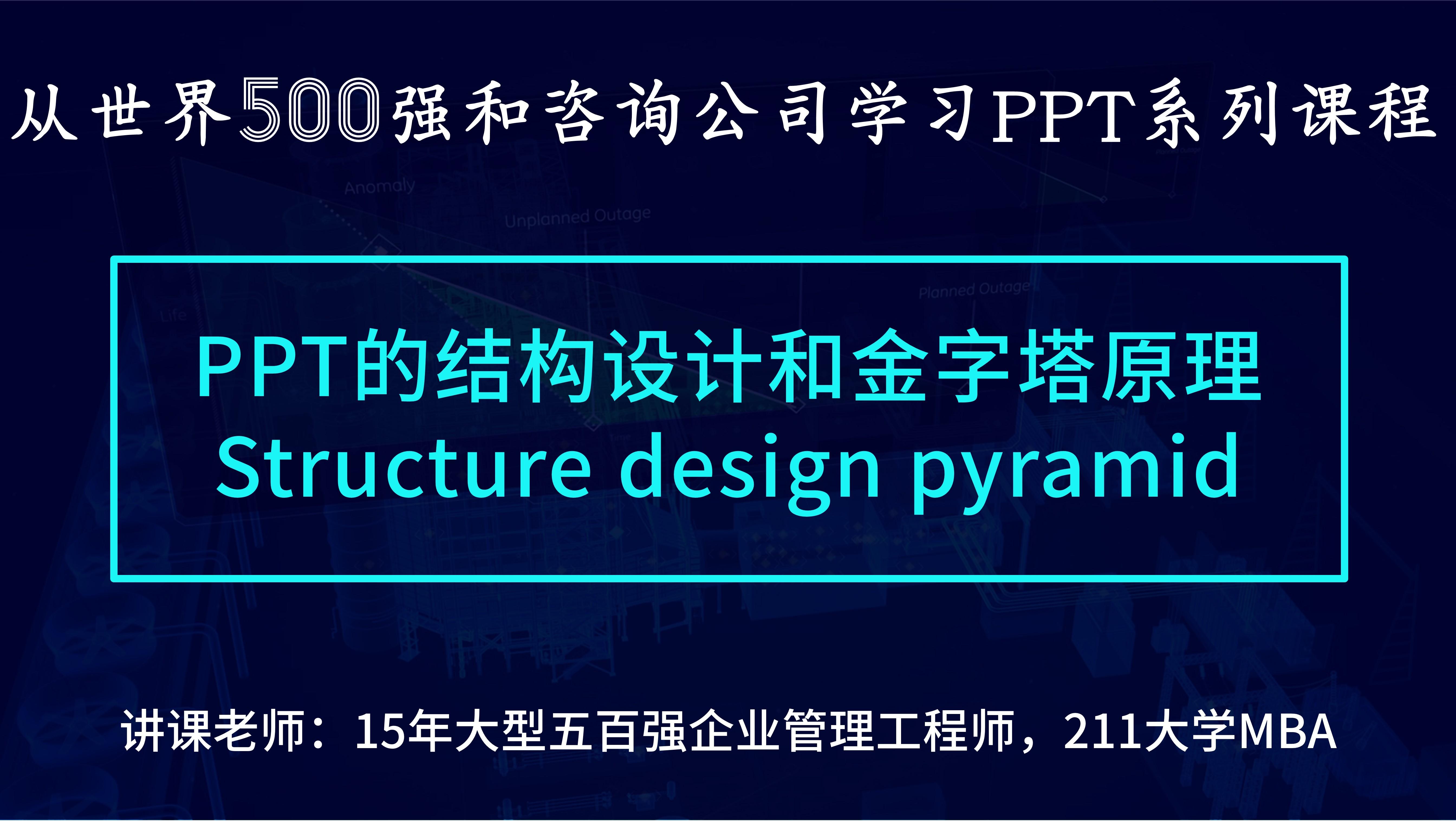 商务PPT的结构设计(JC02付费)
