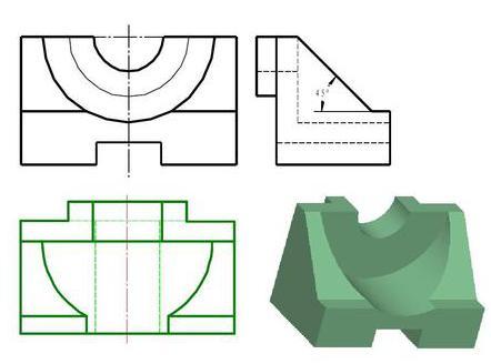 画法几何与工程制图
