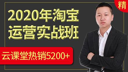 2020年淘宝运营零基础实战教程