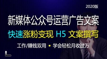新媒体公众号运营H5广告文案撰写