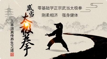 武当太极拳·三丰派真传养生之道,武当太极拳视频教程